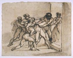 Géricault - L'Enlèvement de Fualdès