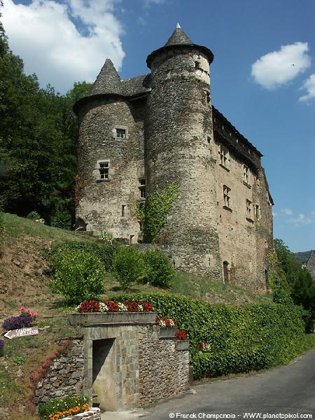 Le château de Vieillevie - Cantal - Auvergne