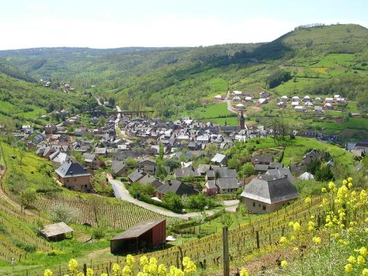 Marcillac Vallon: village et vignoble - Aveyron