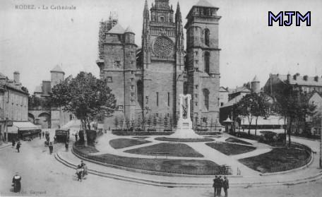 Cathédrale de Rodez - Aveyron - France