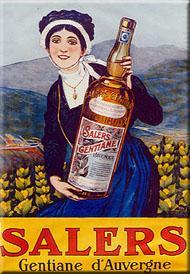La Salers Gentiane: apéritif auvergnat