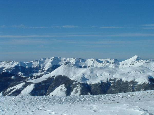 Le Lioran - Plomb du Cantal - Plus haut sommet du Cantal