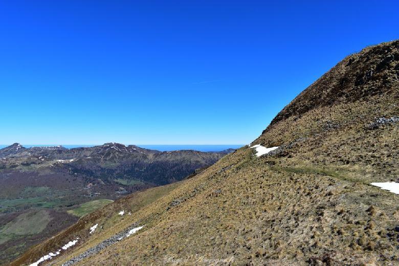 Le Plomb du Cantal qui culmine à 1 855 m
