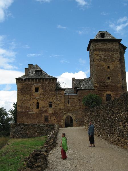 Moyen Âge au château du Colombier à Mondalazac