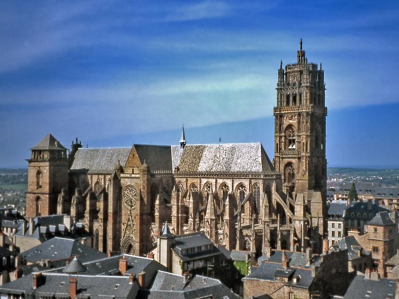 """Résultat de recherche d'images pour """"cathédrale de rodez"""""""